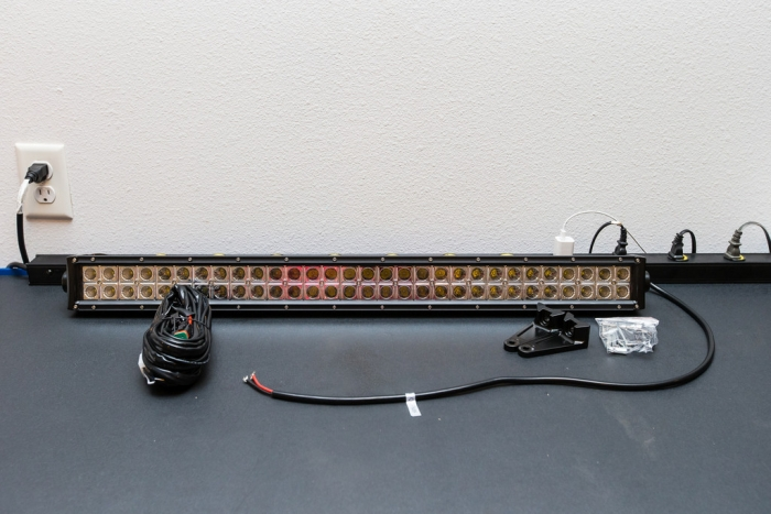 Totron Dc Series 30 U0026quot  Led Light Bar With Universal Mounts
