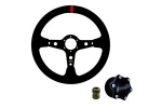 Shallow - Quick Release Steering Wheel Kit